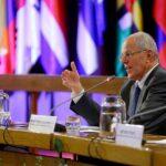 CADE: Presidente Kuczynski arribó a Pisco tras visita a Chile