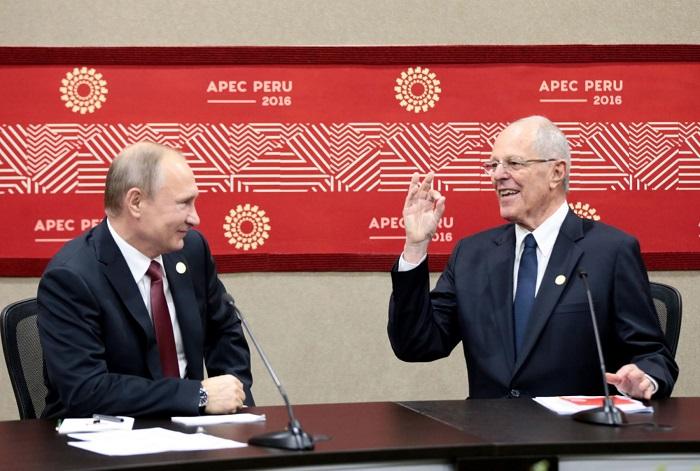APEC 2016: Vladimir Putin llegó a Lima para participar de la Cumbre