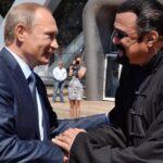 Putin concede la ciudadanía rusa al actor estadounidense Steven Seagal