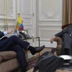 Colombia: Santos y enviado de UE dialogaron sobre pacto de paz con FARC