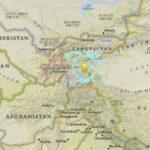 Terremoto de 6.5 grados sacude noreste de Tayikistán cerca de frontera china