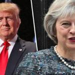 Trump invitó a premier británica a EEUU para reforzar relaciones bilaterales