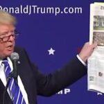 Trump continúa como presidente electo con su guerra contra los medios