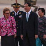APEC 2016: Líder de Vietnam arribó a Perú para participar en Cumbre