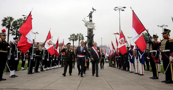 PPK presidirá hoy ceremonia por sus 200 años — Francisco Bolognesi