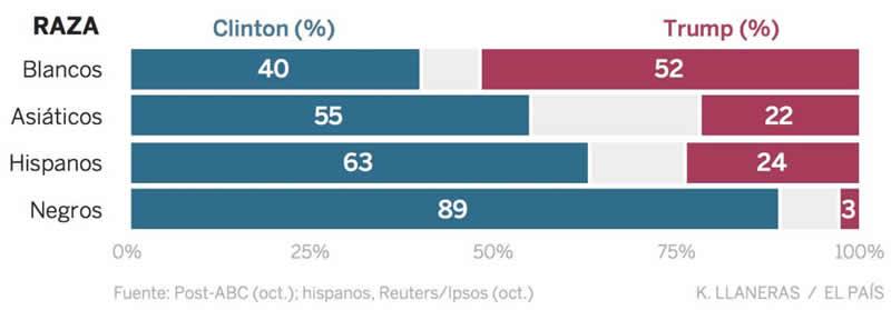 votantes - raza
