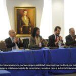 CorteIDH condena a Perú por criminalizar médico al que ligó con terroristas