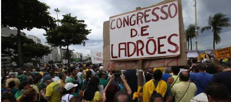 Brasil protestas - 2