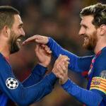 Champions League: Messi y 'hat trick' de Arda Turan en goleada del Barcelona