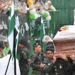 Chapecoense : Multitud despidió a futbolistas que fallecieron enMedellín