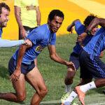 Sporting Cristal afina la máquina para la primera final en Arequipa