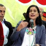 Verónika Mendoza critica a fujimorismo por pedido de censura contra Saavedra