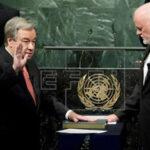 ONU: Expremier portugués Antonio Guterres juró como secretario general