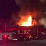 EEUU: Incendio en fiesta deja nueve muertos y 15 desaparecidos