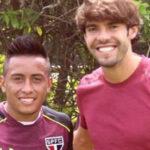 ¿Qué dijo Christian Cueva al conocer en persona a Kaká?