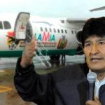 Evo Morales reconoce que gerente de aerolínea LAMIA fue piloto suyo