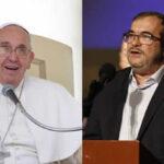 Jefe de las FARC pide audiencia a Papa Francisco durante visita a Colombia