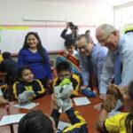Presidente felicita a estudiantes por avances en la prueba PISA