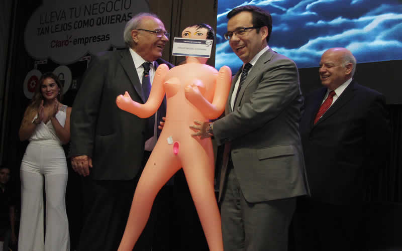 Roberto Fantuzzi y Luis Felipe Céspedes