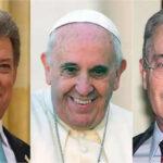 Papa Francisco mediará entre presidente Santos y ex mandatario Uribe