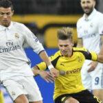 Champions: Borussia Dortmund empata 2-2 con Real Madrid y acaba 1ro. en el Grupo F