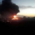 Se estrella avión de carga en Colombia:  5 muertos y un herido grave (VIDEO)