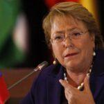 Bachelet critica machismo en Chile y descarta seguir en política tras mandato
