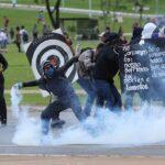 """Brasil: 100 detenidos en protestas contra """"ajustes económicos"""" de Temer"""