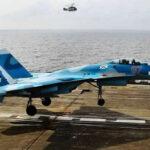 Siria: Otro caza Sukhoi se estrella al romperse cable de portaaviones ruso