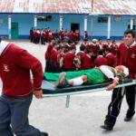 Escolares participarán en simulacro nacional de sismo el 9 de diciembre