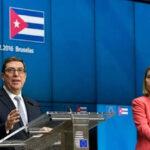 UE y Cuba firman cooperación y anuncian que Trump no afectará relaciones