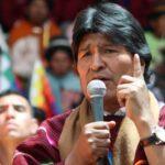 Estados Unidos comunica a Bolivia amenaza contra presidente Morales