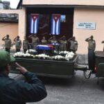 Las cenizas de Fidel Castro parten de Bayamo hacia Santiago, su parada final