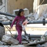 Siria: El 60% de los 31,500 civiles que han huido de Alepo son niños
