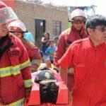 Región Lima: Evalúan respuesta de población durante simulacro de lluvias intensas