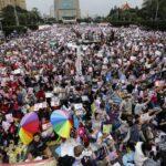 Más de 200.000 taiwaneses se concentran a favor del matrimonio homosexual