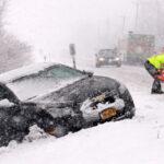 EEUU: Alerta en la costa este por tormenta de nieve y lluvia helada