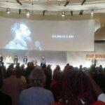 La Izquierda Europea rinde homenaje a Fidel Castro en su congreso