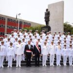 Kuczynski clausura año académico de la Marina de Guerra del Perú