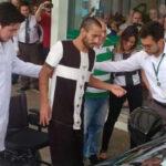 Chapecoense: Alan Ruschel salió del hospital para recuperarse en casa (VIDEO)