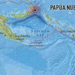 Un terremoto de magnitud 7.9 causa una alerta de tsunami en Papúa