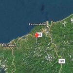 Varios terremotos sacuden la costa norte en Ecuador