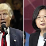 China protesta por diálogo entre Donald Trump y presidenta de Taiwan (VIDEO)