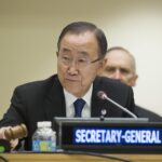 Ban insiste en que paz en Oriente Medio sólo llegará con un Estado palestino