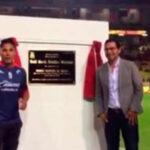 Monarcas Morelia rinde homenaje a Raúl Ruidíaz con placa recordatoria