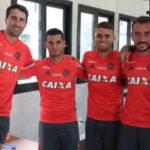Miguel Trauco aparece en su primer entrenamiento con Flamengo