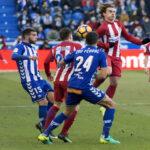 Liga Santander: Atlético Madrid de visita empata 0-0 frente al Alaves