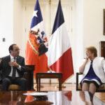 Chile: Hollande y Bachelet visitan museo de víctimas de la dictadura de Pinochet