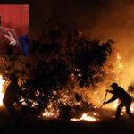 Chile: Bachelet decreta zona catástrofe en regiones afectadas por incendio