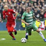 Bundesliga: Bayern Múnich de visita derrota por 2-1 al Werder Bremen